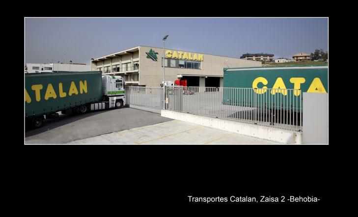 Construcción de pabellón para Transportes Catalán